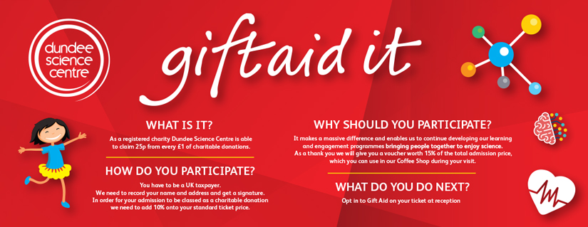 Gift Aid Information